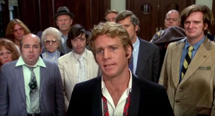 Ryan O'Neal in What's Up, Doc? Review