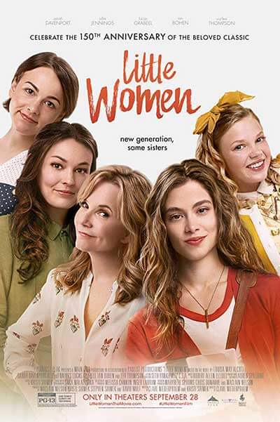 Little Women 2018; Romance and Period Drama Watchlist For December 2018