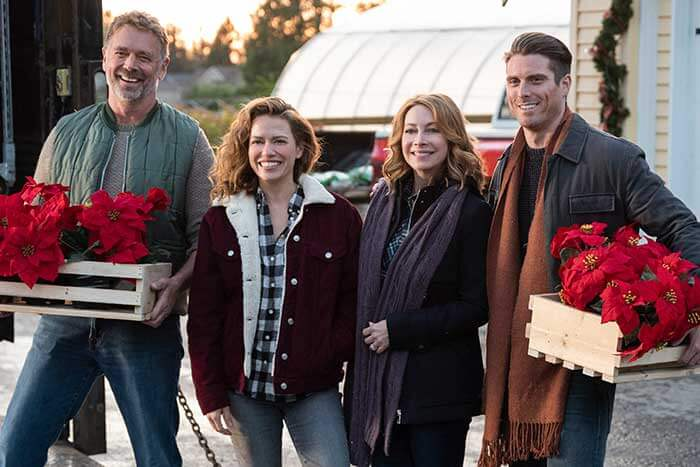 Poinsettias for Christmas; 24 New Lifetime Christmas Movies To Watch