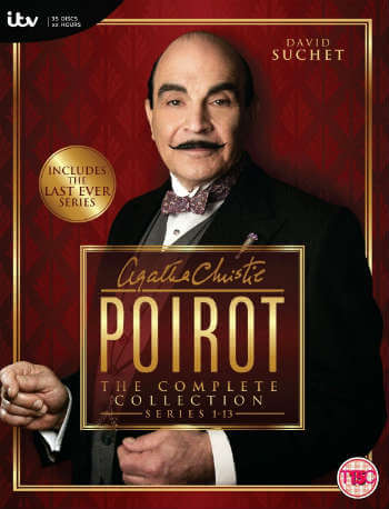 Poirot poster; The Top 30 Enchanting Christmas Period Dramas