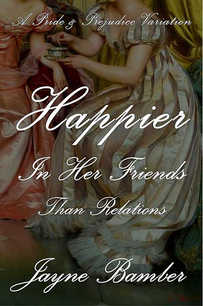 The Chemistry of Crossovers: Guest Post by Jayne Bamber, Author of Happier in Her Friends Than Relations