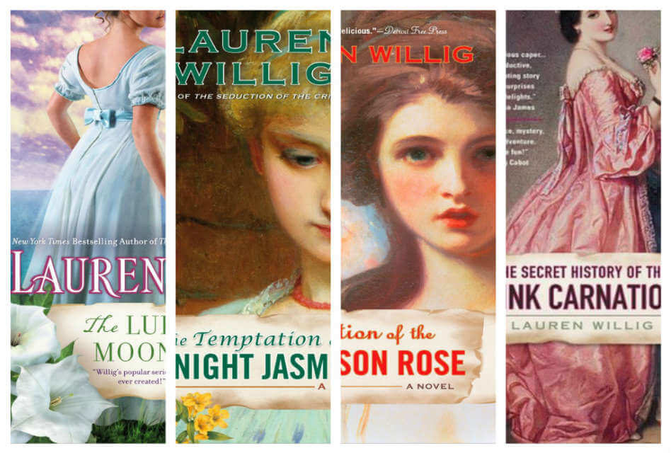 Pink Carnation Series: Danger & Irresistible Romance in Regency England