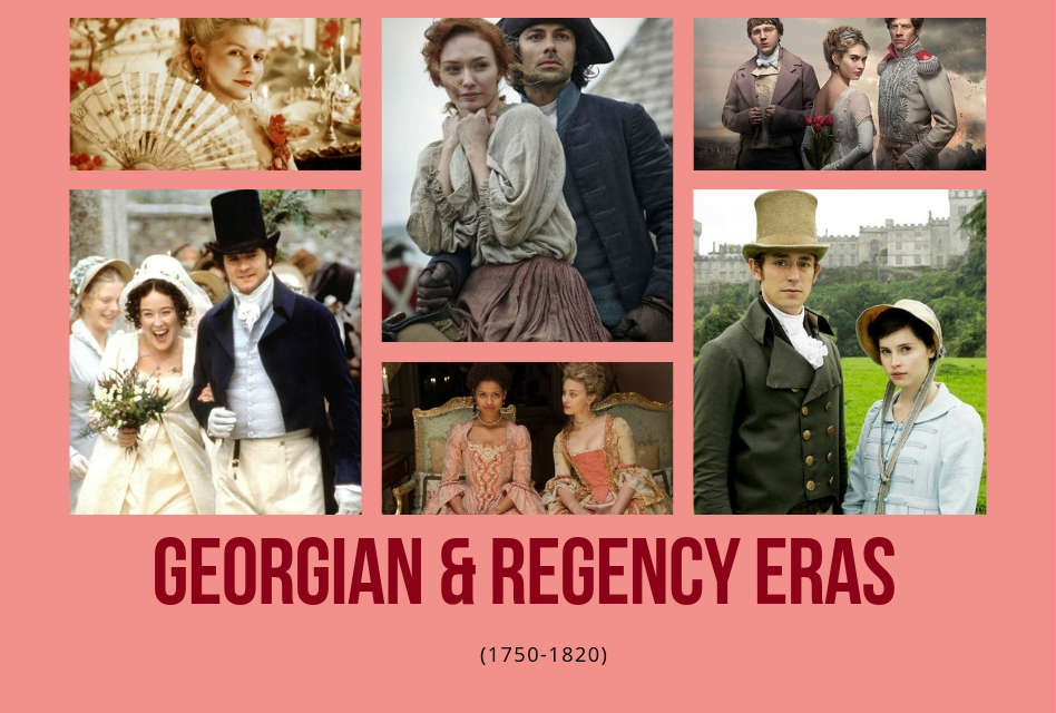 The Georgian and Regency Eras (1750-1820) Period Dramas