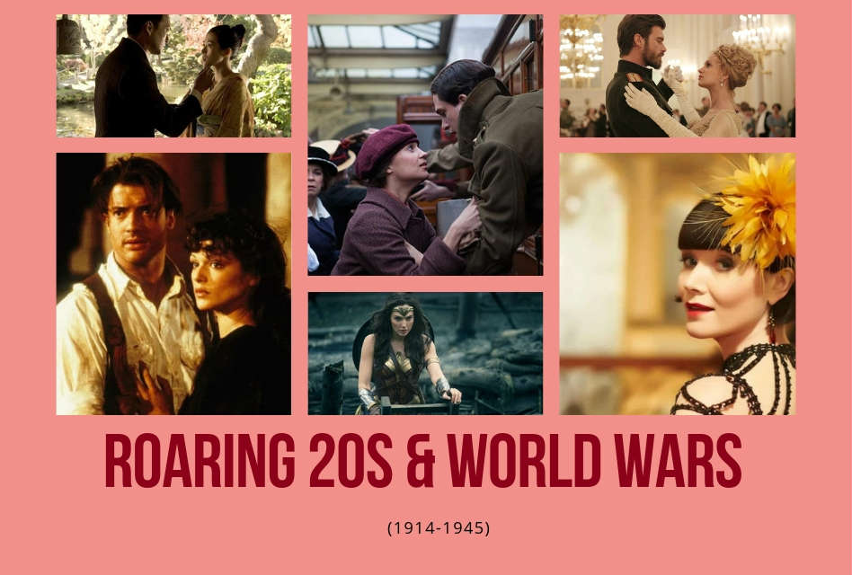 WWI, the Roaring 20s, through WWII (1914-1945)