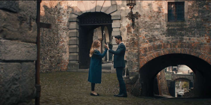 Romantic Moment of the Month - Matthew and Diana in 'A Discovery of Witches'