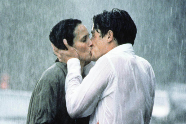 April Showers: 30 of the Most Romantic Moments in the Rain - Four Weddings and A Funeral
