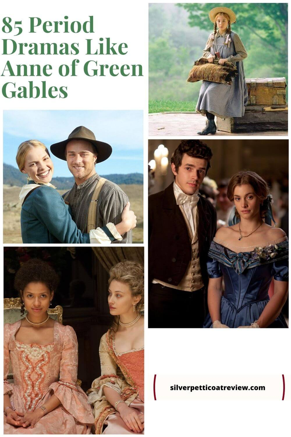 85 Period Dramas Like Anne of Green Gables