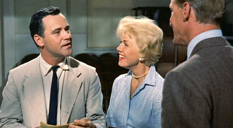 Jack Lemmon & Doris Day in Romantic Comedy LIst; Doris Day Movies