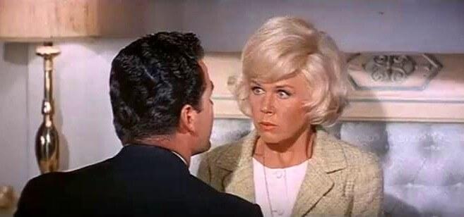 James Garner & Doris Day in Romantic Comedy List