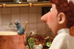 Ratatouille; Mouthwatering Tales: 20 Films for the Romantic Foodie; films for foodies