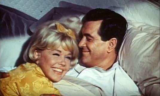 Rock Hudson & Doris Day in Romantic Comedy List