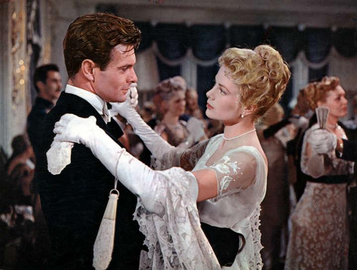 The Swan - Grace Kelly and Louis Jourdan as Professor Agi