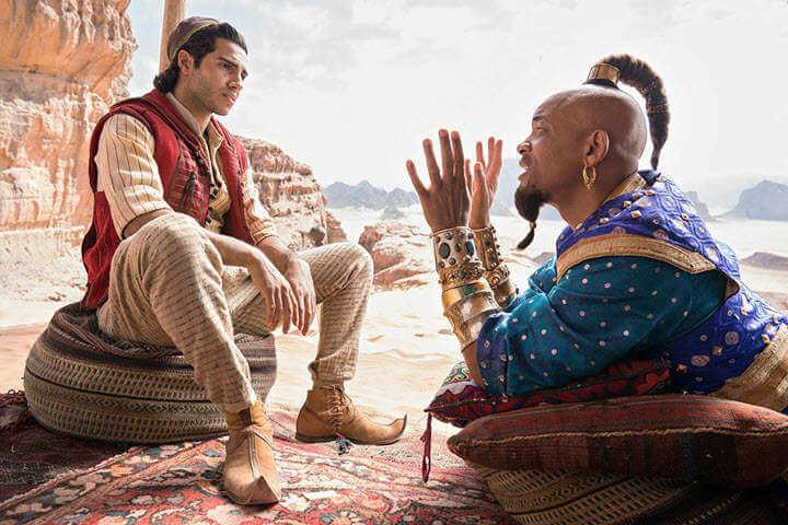 Aladdin movie: Aladdin, Genie