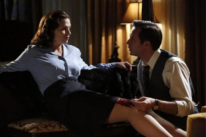 Peggy and Jarvis in Agent Carter