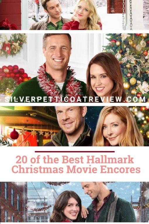 20 of the Best Hallmark Christmas Movie Encores. Find out what Hallmark Christmas movies to watch for Christmas in July. #Hallmark #HallmarkChristmasMovies #romance