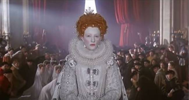 Cate Blanchett as Queen Elizabeth; movies about royals