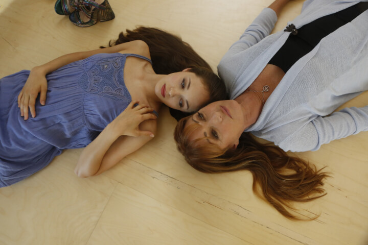 Juliet Doherty and Jane Seymour in High Strung Free Dance