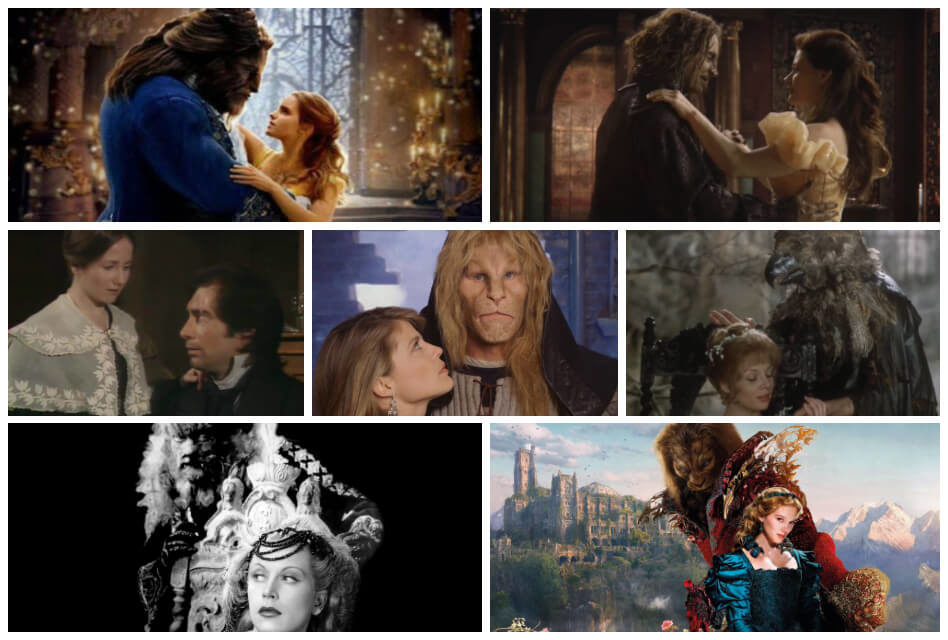 Ranking the 16 Best Adaptations of the Beauty and the Beast Story