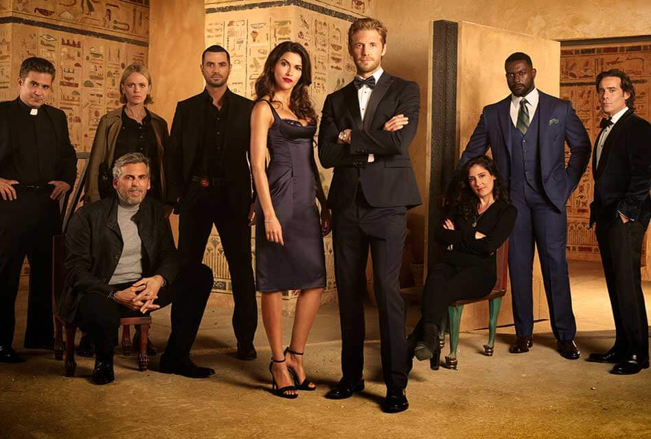 Blood and Treasure Review, The Mummy, Danny and Lexi, Action Adventure Drama,