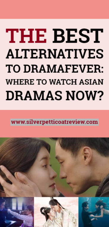 The Best Alternatives to Dramafever: Where to Watch Asian Dramas Now? Pinterest Graphic