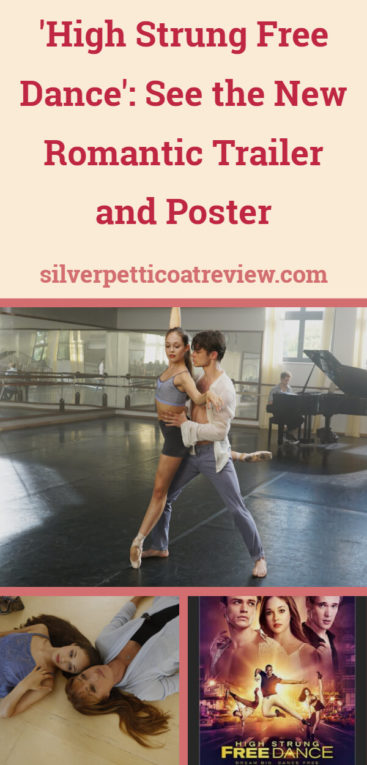 A pinterest image for a new romantic dance movie