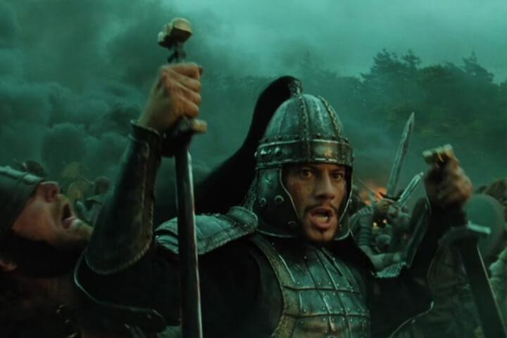 Lancelot in King Arthur 2004 film.
