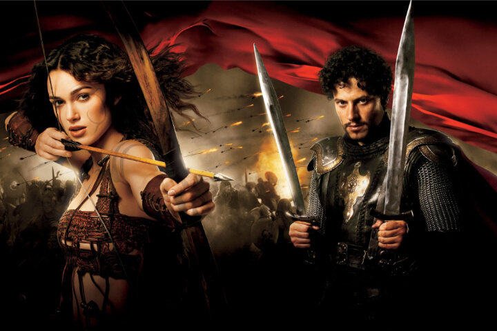 Classic Romantic Moment of the Month: Lancelot and Guinevere - The Most Epic Romantic Rescue in Battle. King Arthur 2004 film