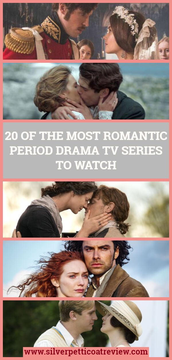 20 of the Most Romantic Period Drama TV Series to Watch - Pinterest image