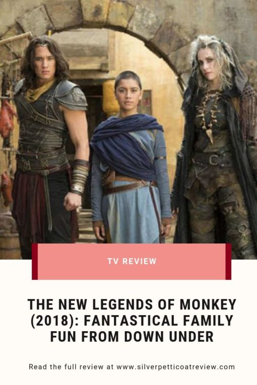 The New Legends of Monkey (2018): Fantastical Family Fun from Down Under #Fantasy #TVShows #Netflix #Family
