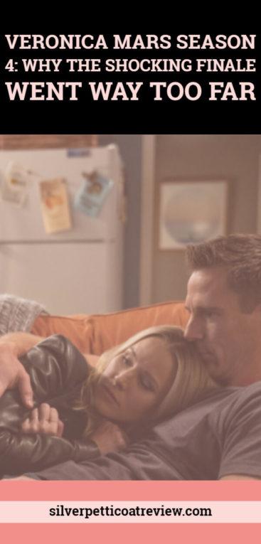 Veronica Mars Season 4: Why the Shocking Finale Went Way Too Far. Let's discuss... #VeronicaMars #RobThomas #LoganandVeronica #JasonDohring #LoVe #Hulu #RomanticMystery #Noir #TVCouples #RomanticTVShows