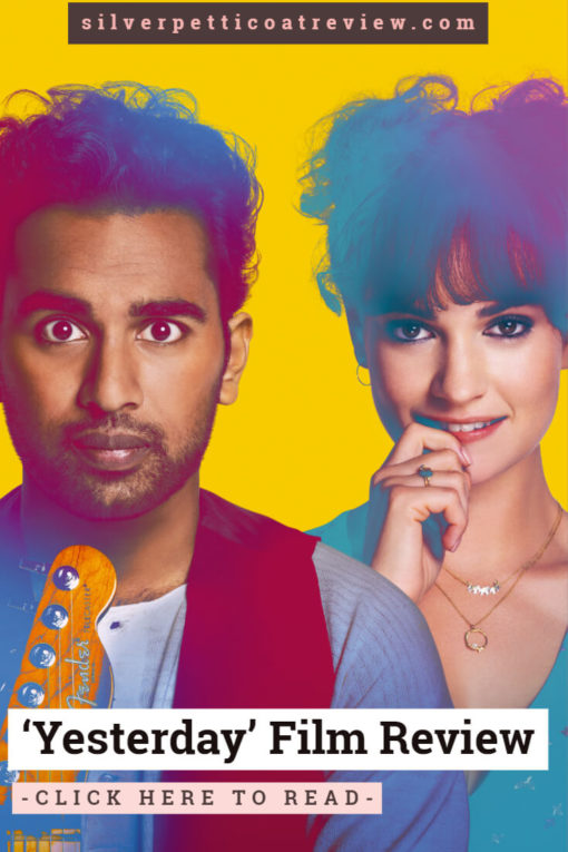 Yesterday Review - This Quirky New Rom-Com Will Make You Happy.  #FilmReview #RomanticMovies #LilyJames #BritishMovies #RomanticComedies