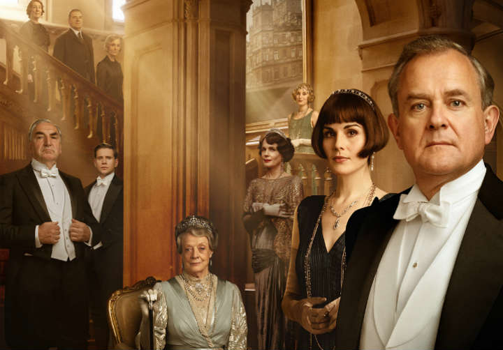 Downton Abbey movie promo image; movies and shows like Victoria