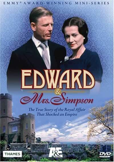 Edward & Mrs. Simpson DVD cover