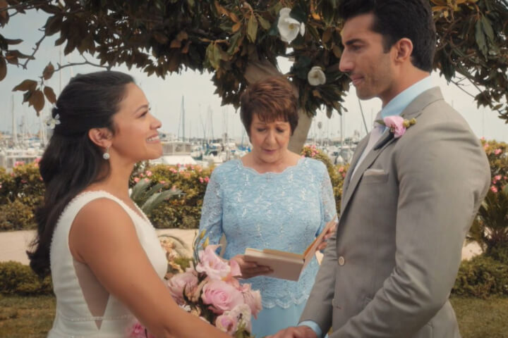 Jane the Virgin wedding ceremony