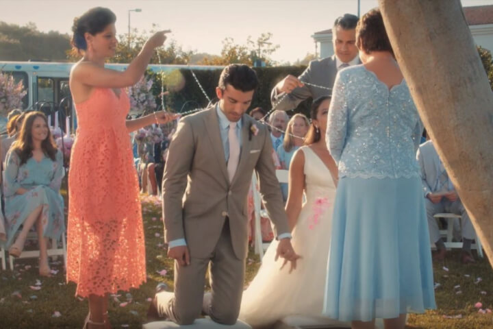 Mexican wedding tradition shown in Jane the Virgin.