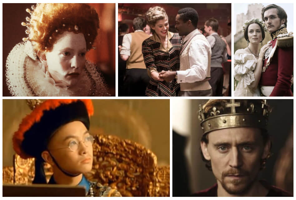 movies about royals collage
