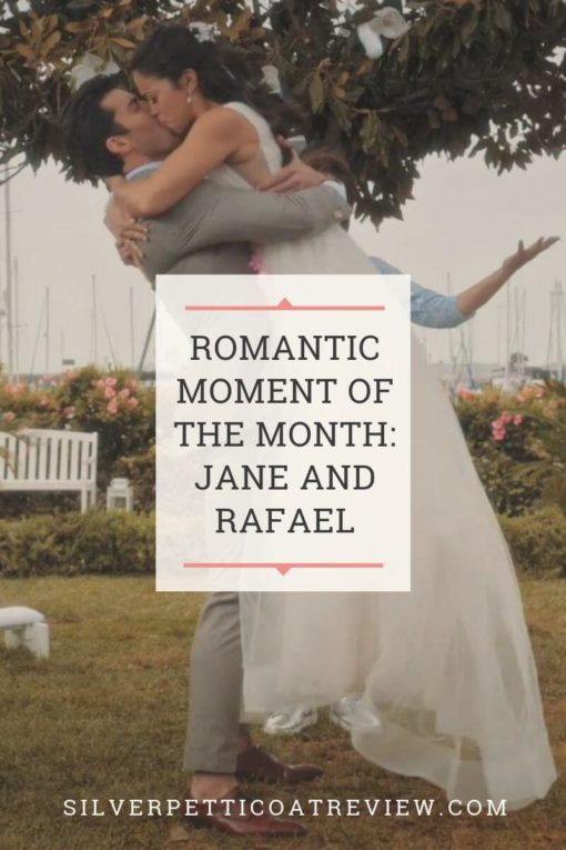 Romantic Moment of the Month pin