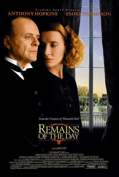 The Remains of the Day poster; The 50 Best Free Period Dramas to Watch on IMDB TV