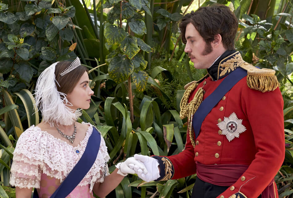 Victoria season 3 promotional image of Victoria and Albert
