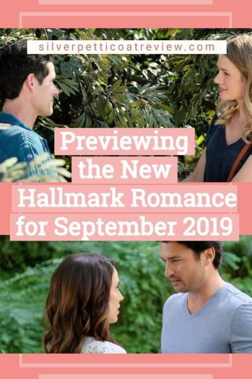Hallmark Channel Schedule: Previewing the New Hallmark Romances for September 2019: PIN