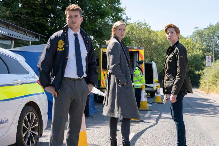 Taken Down promotional image; fall 2019 acorn tv