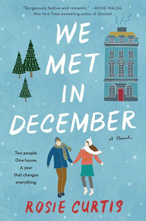 We Met in December book cover, Romance, Holiday Romance, Christmas