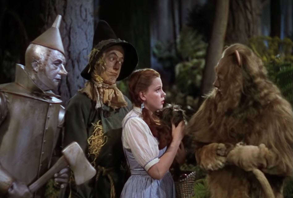 The Wizard of Oz, Wizard of Oz Life Lessons, Judy Garland