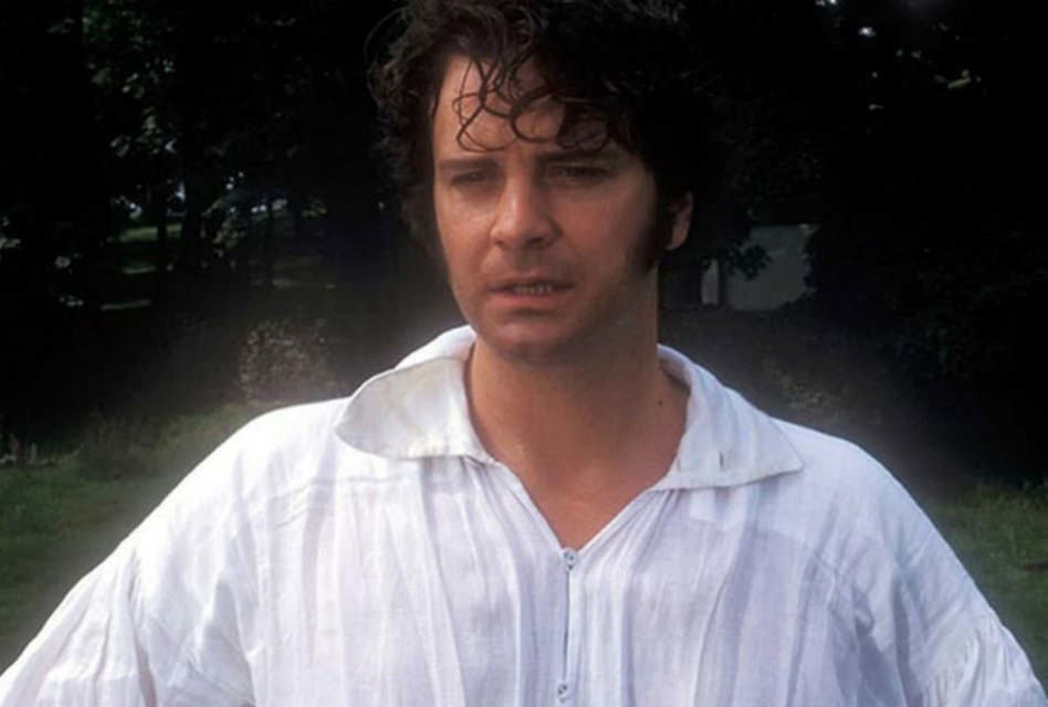 Colin Firth as Mr. Darcy; Ranking the 10 best Mr. Darcy's
