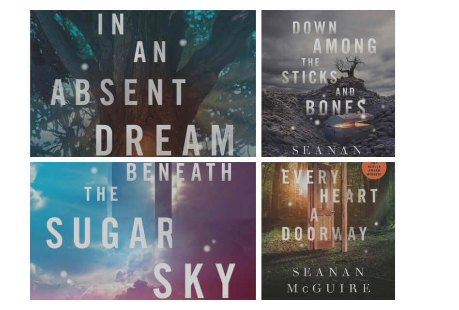 The Wayward Children Series book covers