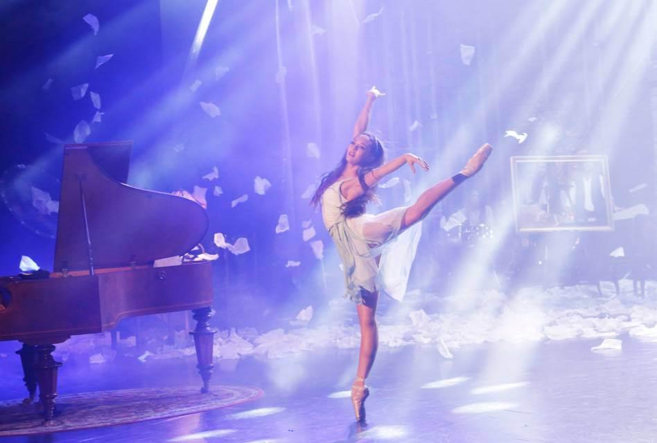 Juliet Doherty dancing in High Strung Free Dance
