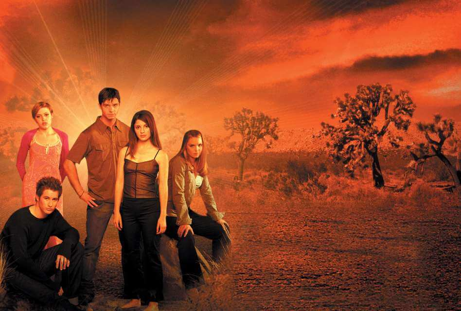 cast of Roswell TV Show 1999