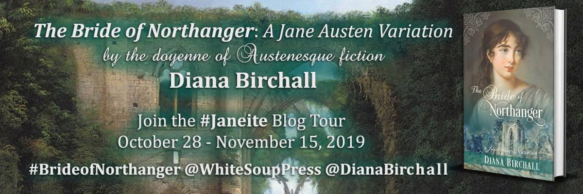 The Bride of Northanger Blog Tour Banner