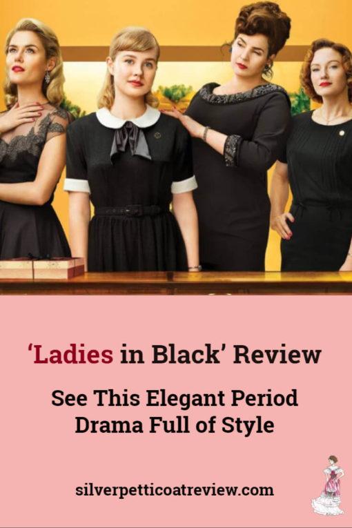 Ladies in Black Review- Pinterest image