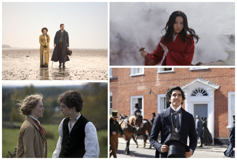 new period dramas collage
